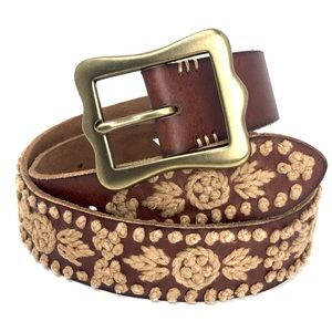 NWT Lucky Brand Embellished Belt Medium